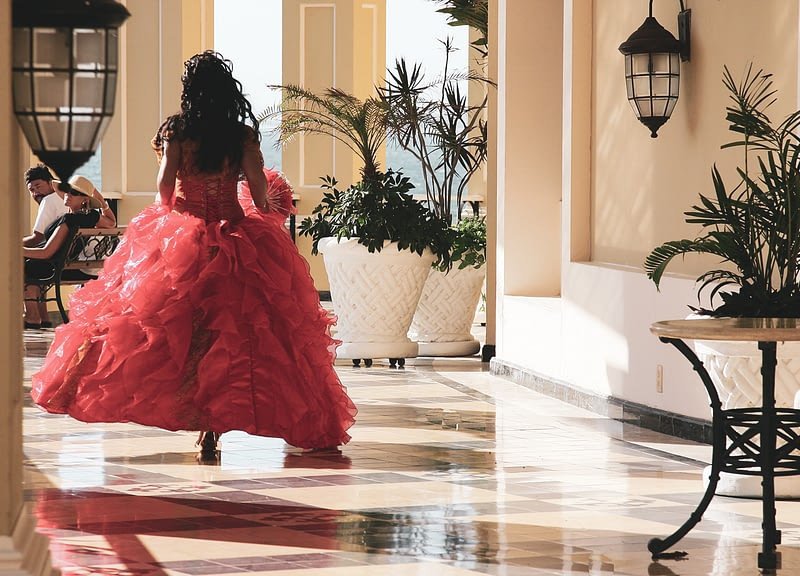 Red Quinceanera Dress Quince Sweet 16