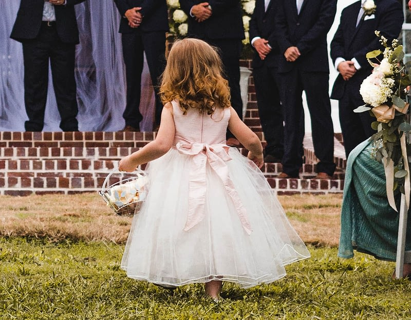 Flower girl communion