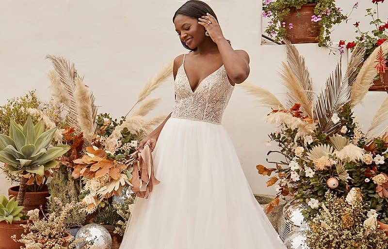 wedding dress from casablanca bridal gown